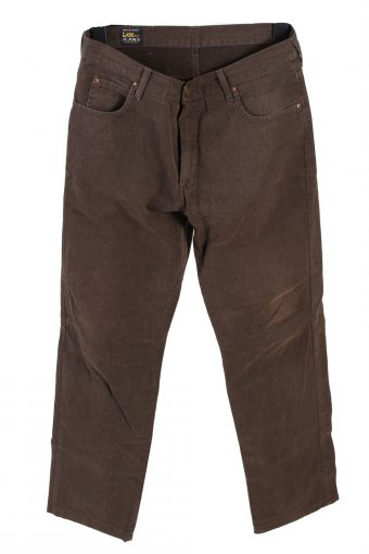 Lee Denim Jeans Straight Leg Mens W33 L30