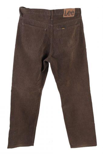 Vintage Lee Mid Waist Jeans Straight Leg 32 in. Brown J4253-110906