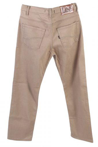 Vintage Lee Strech Mid Waist Jeans Straight Leg 30 in. Latte J4257-110918