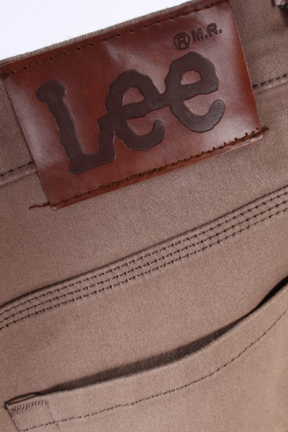 Vintage Lee Strech Mid Waist Jeans Straight Leg 30 in. Latte J4257-110919