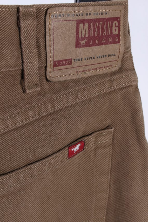Vintage Mustang Harren Jeans Mid Waist Boot Leg 32 in. Latte J4260-111054