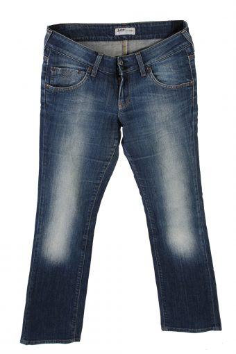 Lee Cade Denim Jeans Straight Women W29 L31