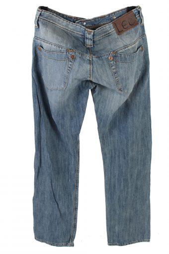 Vintage Lee Ripley X-Pocket Jeans Mid Waist 34 in. Light Blue J4279-111110