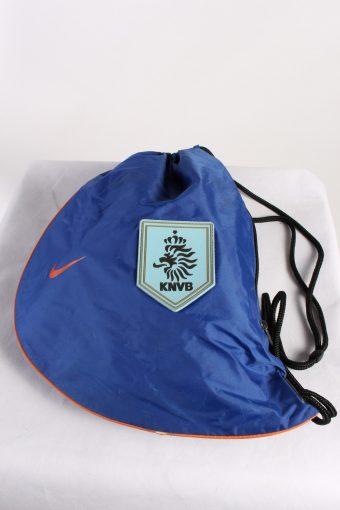 Vintage Nike Nedherland Printed Gymsack Unisex Dark Blue