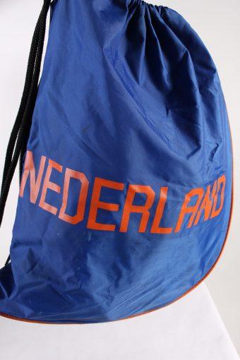 Vintage Nike Nedherland Printed Gymsack Unisex Dark Blue BG801-113580