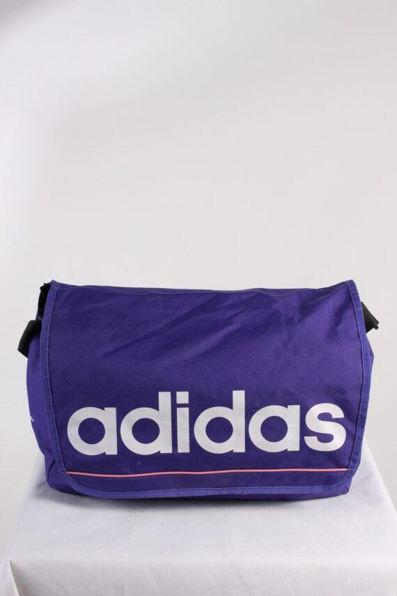 Vintage Adidas Shoulder Messenger Womens Adjustable Strap Purple BG816-0