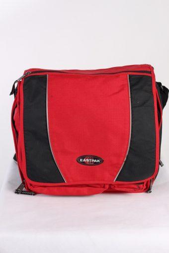 Vintage Eastpak Shoulder Messenger Bag Red