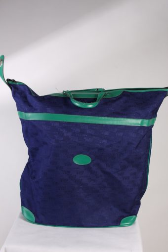 Vintage Unisex Cabin Hand Lagguage Bag Dark Blue