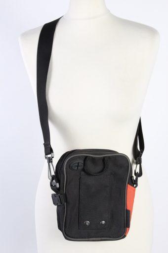 Vintage Puma Shoulder Messenger Bag Unisex Dark Grey/Orange BG899-113944