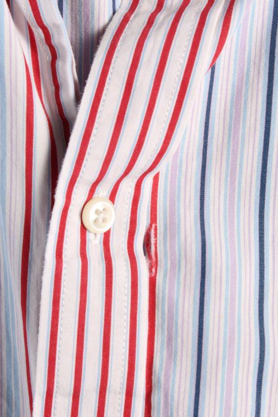 Vintage Mens Tommy Hilfiger Stripe Long Sleeve Shirts L Multi SH3865-114646