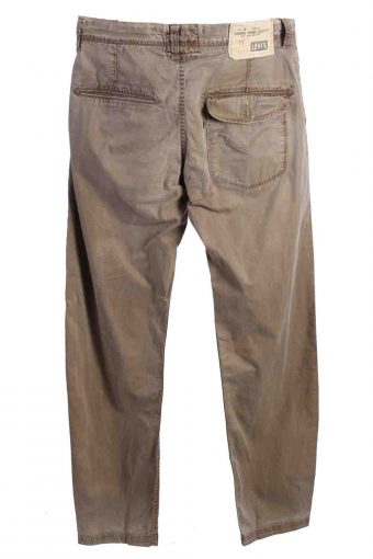 Vintage Mens Levis Holiday Chino Trousers 34 in. Beige J4348-114847