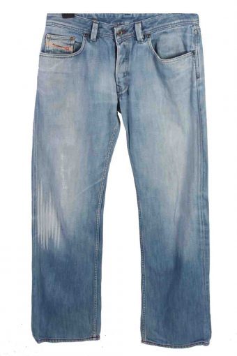 Mens Diesel Levan Jeans Mid Waist Casual Denim 33 in