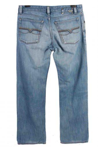 Vintage Mens Diesel Levan Jeans Mid Waist 33 in. Light Blue J4357-114905