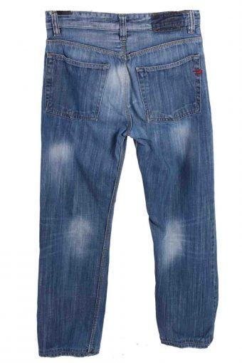 Vintage Mens Diesel Mid Waist Jeans Denim 30 in. Blue J4358-114909
