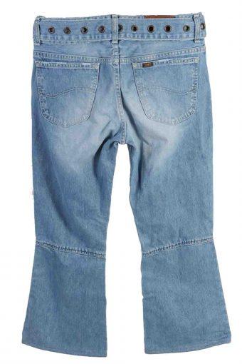 Vintage Womens Lee Mid Waist Jeans 32 in. Light Blue J4365-114937
