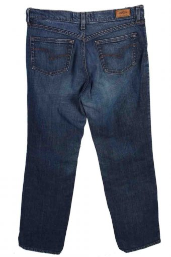 Vintage Mens Lee Cooper Totem Straight Leg Fited Waist Jeans 33 in. Blue J4366-114941