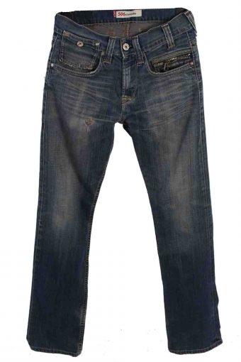 Levi's 506 Denim Jeans Standard Mens W30 L34