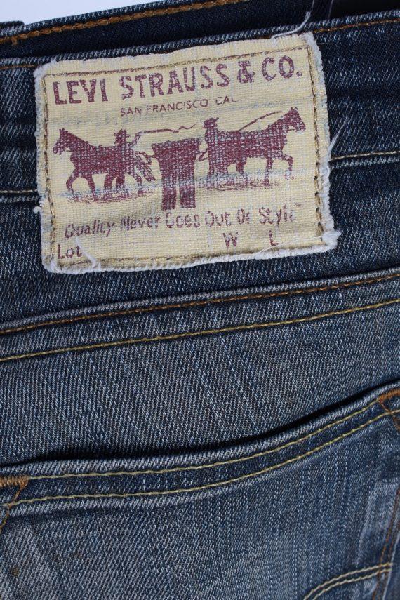 Vintage Unisex Levis Mid Waist Jeans 31 in. Blue J4370-114958