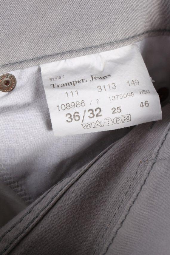 Vintage Mens Mustang Tramper Jeans 35 in. Grey J4381-115001