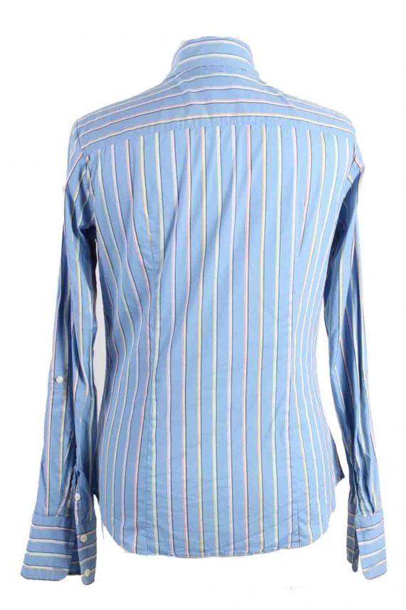 Vintage Tommy Hilfiger Strech Long Sleeve Shirts 6 Blue SH3827-114368