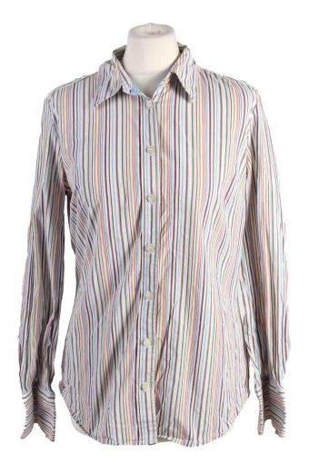 Tommy Hilfiger Shirt Long Sleeve 90s Women Multi M