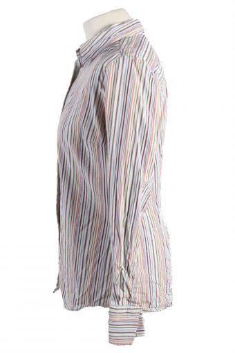 Vintage Tommy Hilfiger Stretch Long Sleeve Shirts M Multi SH3828-114370