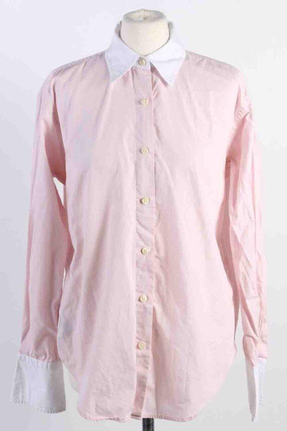 Vintage Ralp Lauren Cotton Long Sleeve Shirts 12 Pink SH3830-0
