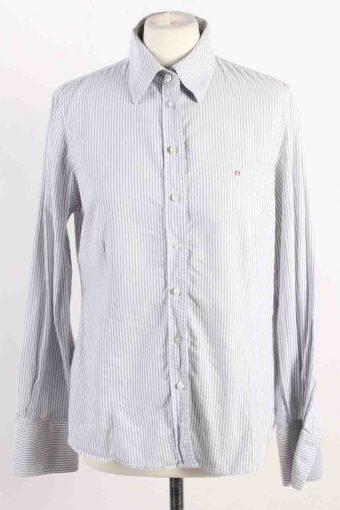 Gant Women Shirt Cotton Long Sleeve 90s Grey M