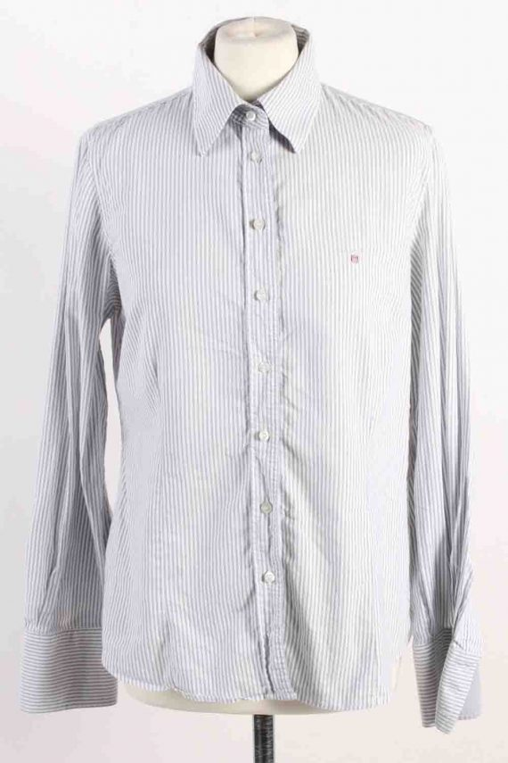 Vintage Gant Long Sleeve Shirts 16 Grey SH3833-0
