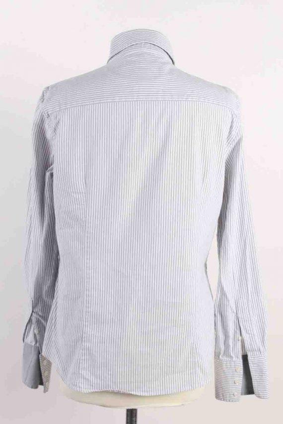 Vintage Gant Long Sleeve Shirts 16 Grey SH3833-114386