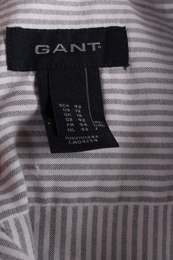 Vintage Gant Long Sleeve Shirts 16 Grey SH3833-114387