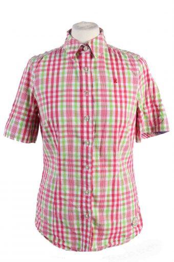 90s Women Shirt Aloha Short Sleeve Multi S