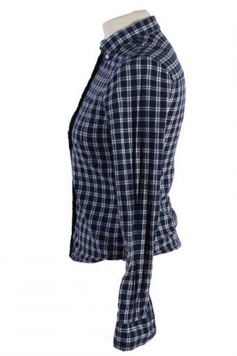 Vintage Abercrombie Kids Festival Long Sleeve Shirts L Navy SH3848-114430