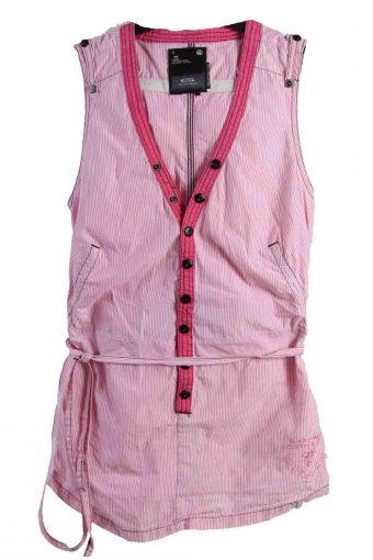 G Star Sleeveles Shirts 90s Retro Women Pink S