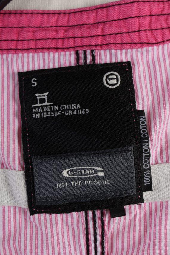 Vintage G-Star Sleeveless Shirts S Pink SH3849-114434