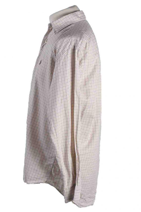 Vintage Mens Polo Ralp Lauren Blake Long Sleeve Shirts M Beige SH3850-114558