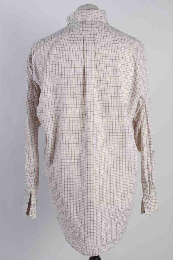 Vintage Mens Polo Ralp Lauren Blake Long Sleeve Shirts M Beige SH3850-114559