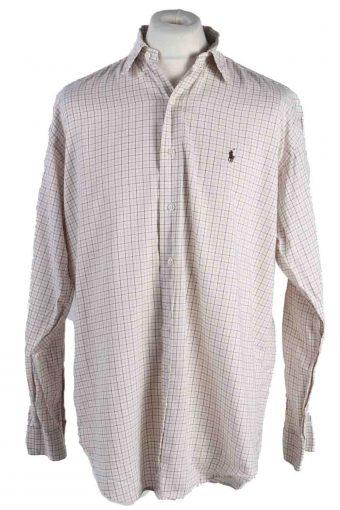 Mens Polo Ralph Lauren Blake Long Sleeve Shirts Beige M