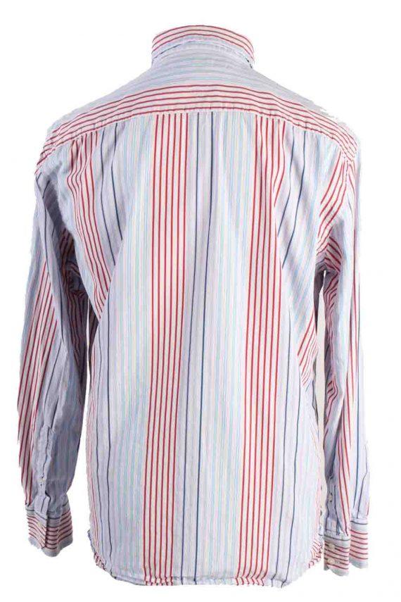 Vintage Mens Tommy Hilfiger Stripe Long Sleeve Shirts L Multi SH3865-114615