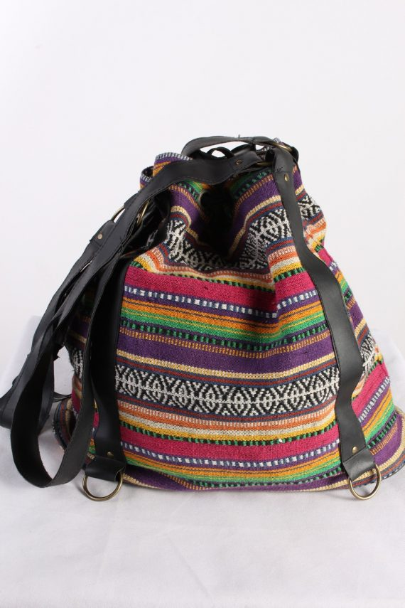 Vintage Womens Street Style Hand Bag Multi Colour BG1019-0