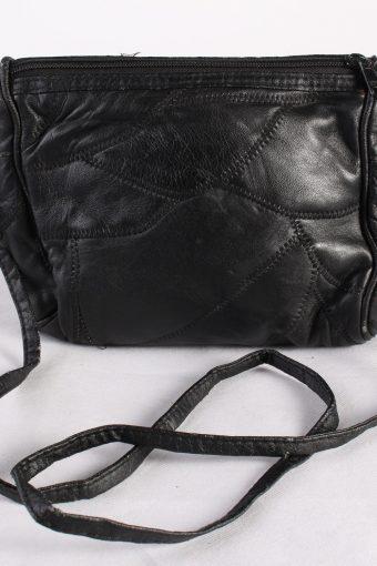 Vintage Womens Shoulder Messenger Crossbody Bag Black
