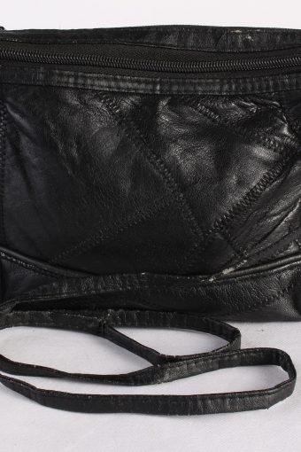 Vintage Womens Shoulder Messenger Crossbody Bag Black BG1025-116151