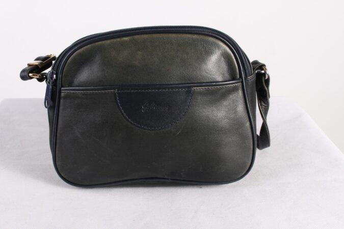 Vintage Womens Small Hand Bag Messenger Shoulder Bag Khaki BG1030-0