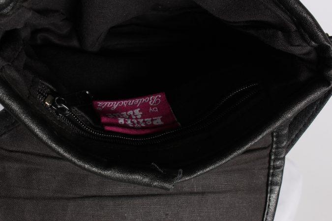 Vintage Womens Patchwork Printed Shoulder Messenger Mini Bag Black BG1035-116192