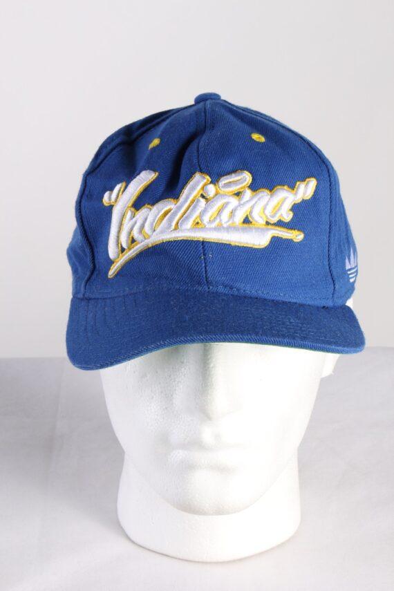 Vintage Adidas Originals Indiana NBA Men's Trucker Cap Blue HAT420-0