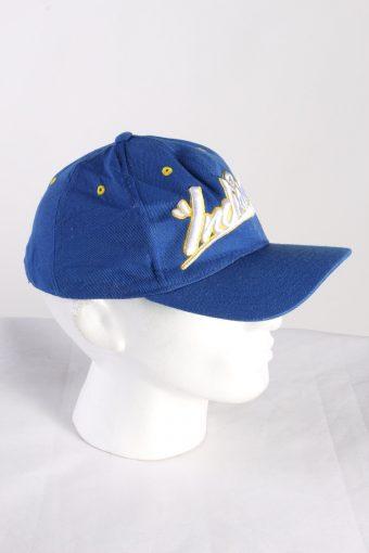 Vintage Adidas Originals Indiana NBA Men's Trucker Cap Blue HAT420-115385