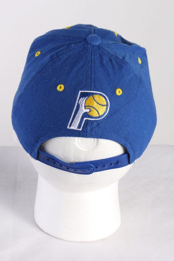 Vintage Adidas Originals Indiana NBA Men's Trucker Cap Blue HAT420-115386