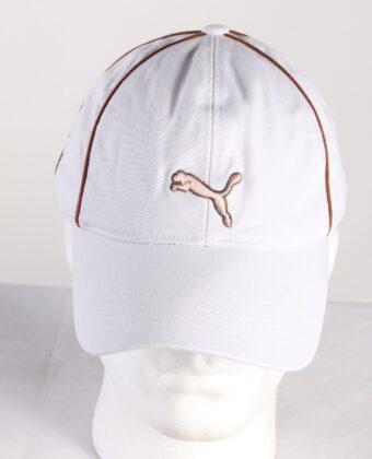 Vintage Puma Golf Men's Pounce Adjustable Cap White HAT424-0