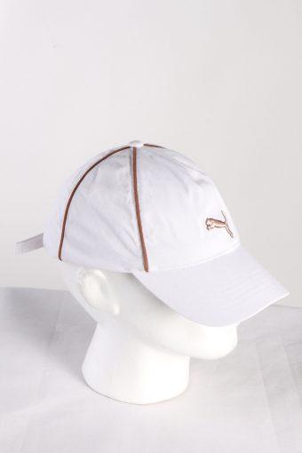 Vintage Puma Golf Men's Pounce Adjustable Cap White HAT424-115401