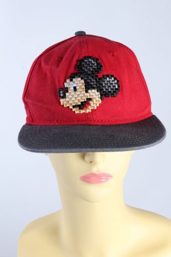 Vintage Disney Parks Authentic Original Mickey Printed Hat